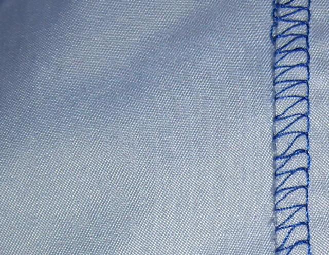 Sådan ser polyester ud.
