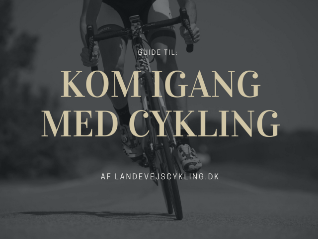 guide til at komme igang med cykling