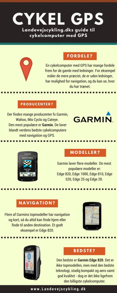 Hvilken cykel GPS skal man vælge