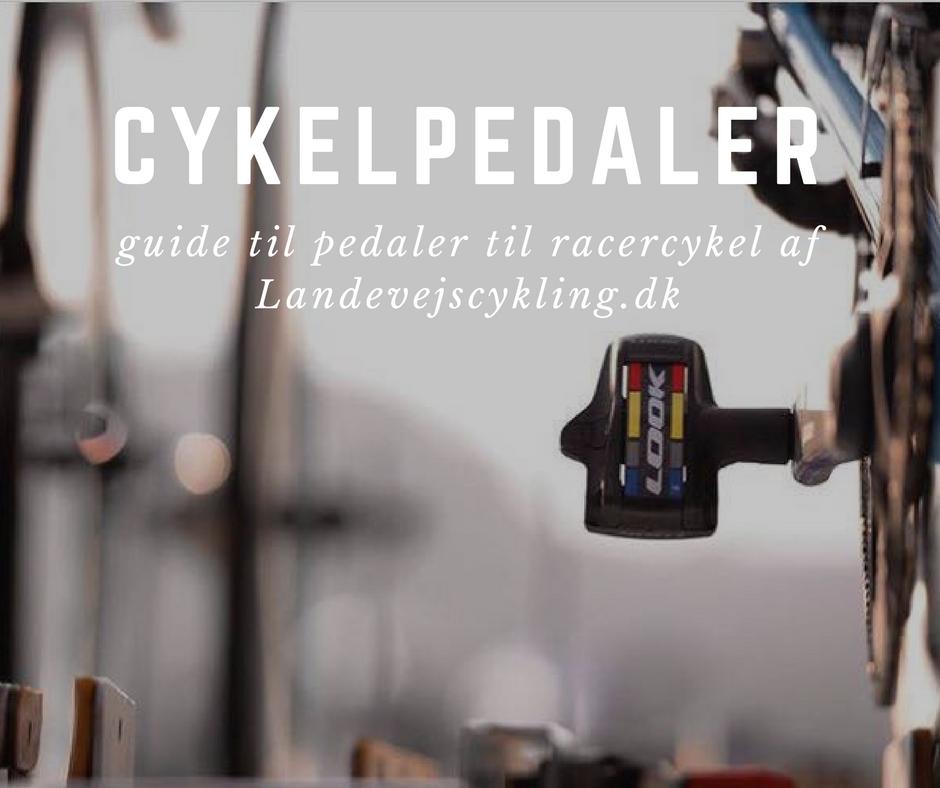 guide til cykelpedaler til racer
